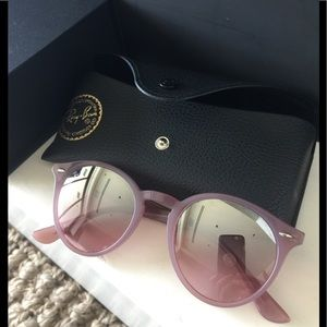 Unique Like New Ray Ban Pink Sunglasses